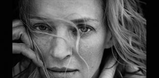 le dive al naturale secondo Peter Lindbergh _ Uma Thurman