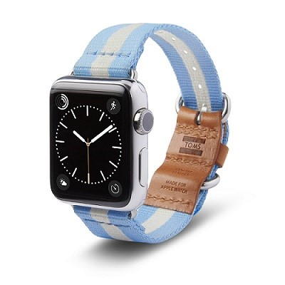 TOMS for Apple Watch Utility Band (PRNewsFoto/TOMS)