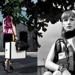 Prada Resort 2017 Campaign with Jessica Chastain