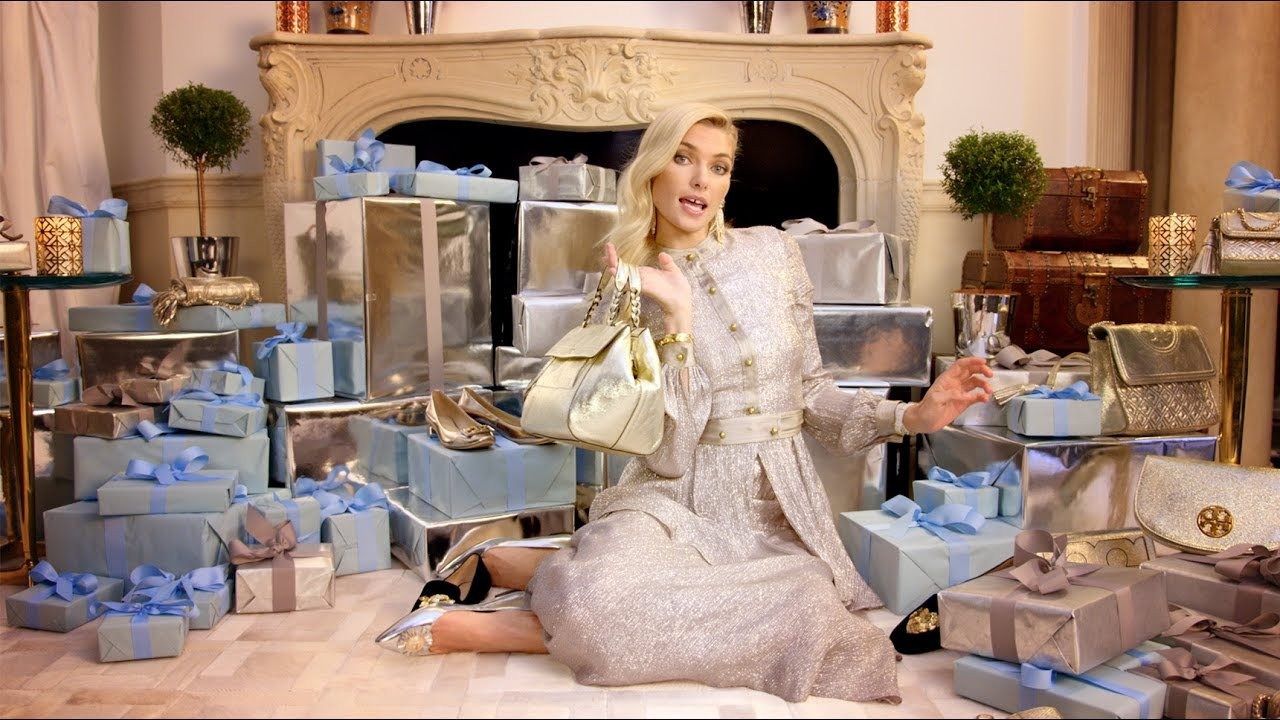 TORY BURCH Debuts New Holiday Campaign with Jessica Hart