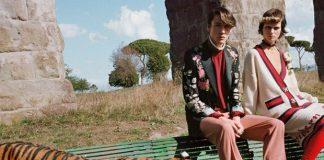 Giorni selvaggi e notti a Roma : la Campagna Gucci per la Primavera Estate 2017 diretta da Glen Luchford.