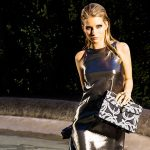 Lottie Moss, Bulgari's new accessories ambassador.