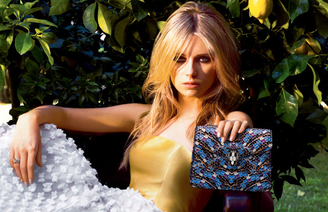 Lottie Moss, Bulgari's new accessories ambassador