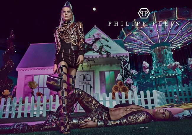 Philipp Plein, la nuova campagna pubblicitaria firmata Steven Klein