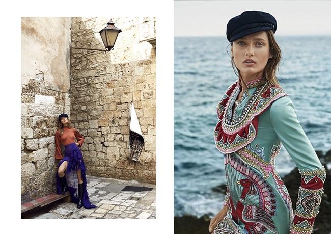 Harper's Bazaar Australia - Karmen Pedaru fotografata da Sylve Colless
