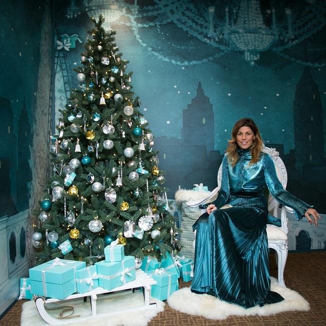 I gioielli Tiffany & Co. illuminano gli abiti da sogno firmati Luisa Beccaria