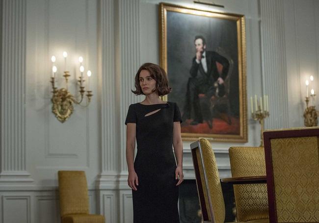 Natalie Portman interpreta Jackie Kennedy