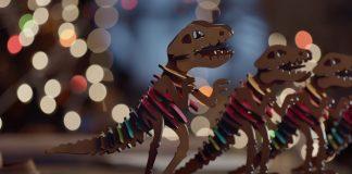 Coach: il fashion film di Natale con il dinosauro Rexy