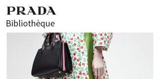 La nuova Prada Bibliothèque, la borsa senza tempo