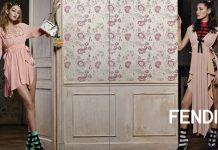 Bella Hadid & Karl Lagerfeld Team Up For Fendi's Latest Campaign
