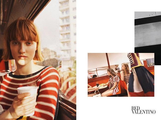 REDValentino Spring/Summer 2017 AD campaign