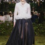 Il debutto di Maria Grazia Chiuri nell'Haute Couture di Dior
