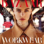 Harper's Bazaar Serbia February 2017 Hedvig Palm by Louis Christopher