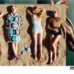 Miu Miu campagna pubblicitaria primavera estate 2017