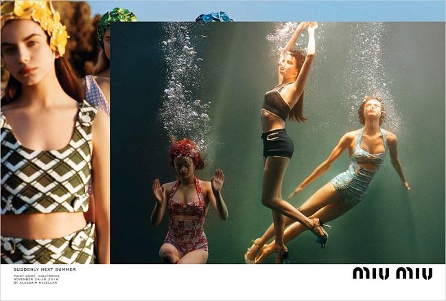 MIU MIU - Campaign SpringSummer 2017