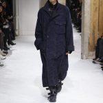 Yohji Yamamoto sfilata uomo autunno inverno 2017-18