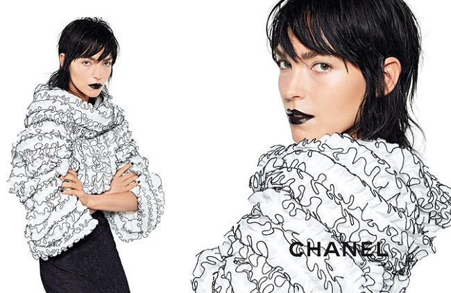 Arizona Muse for Chanel Spring Summer 2017 (Photography Karl Lagerfeld)