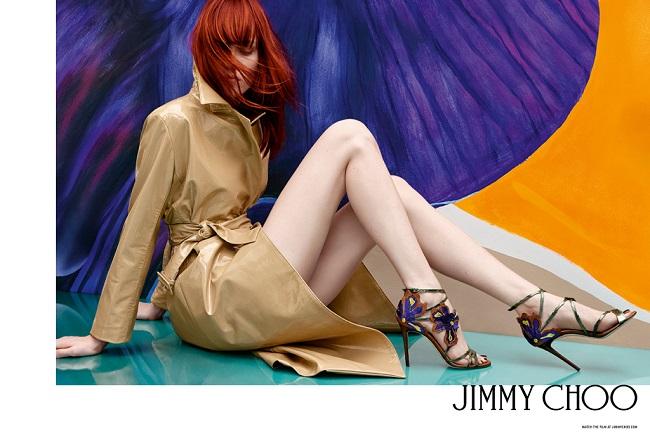 Jimmy Choo collezione primavera-estate 2017.