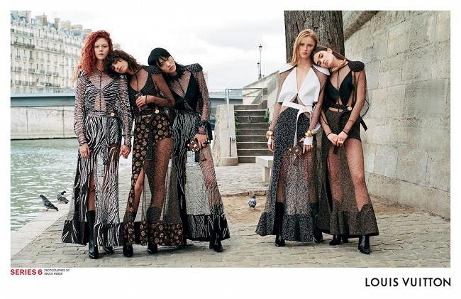 """Louis Vuitton: la nuova campagna pubblicitaria """"Series 6"""""""