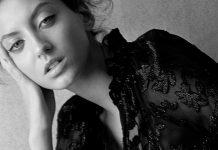Bellissima, eterea, di assoluta purezza: Gabriele di Pierro fotografata da Mario Lopes.