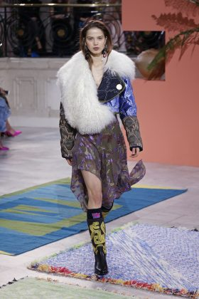 London Fahion Week: Peter Pilotto, stampe astratte e tweed colorati