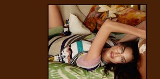 Irina Shayk Stars in Missoni Spring Summer 2017 Campaign by Harley Weir