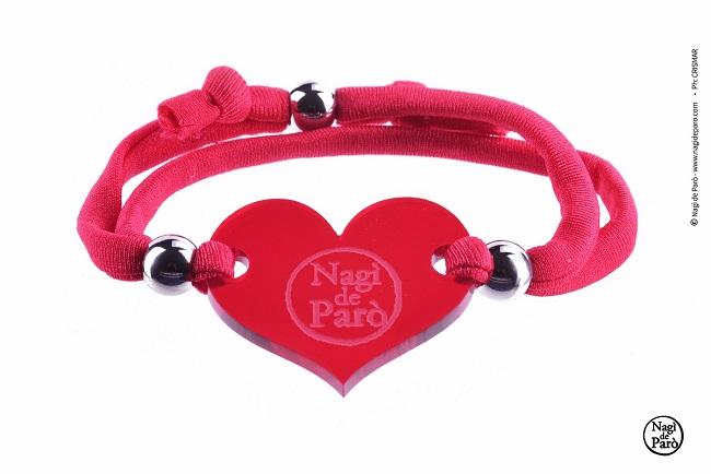Nagì de Parò invita a condividere l'Amore e presenta la capsule St. Valentin 2K17