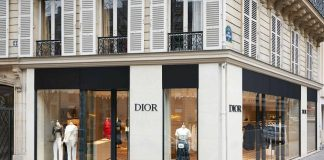 Dior, Il Pop-Up Store al numero 44 di Avenue Montaigne © Adrien Dirand