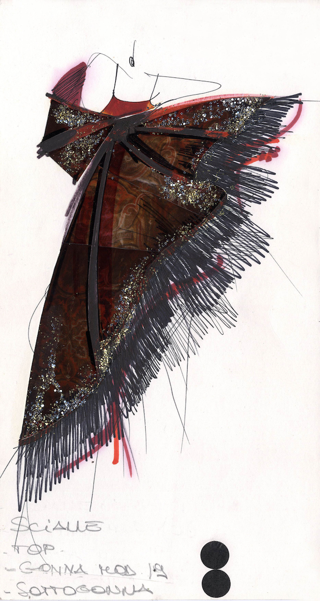Gianfranco Ferré. Moda, un racconto nei disegni