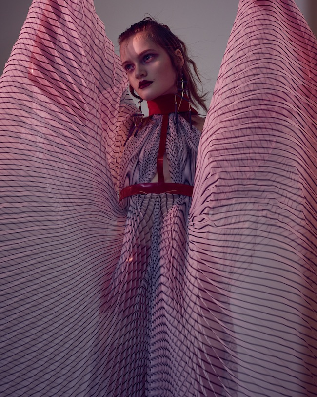 Vogue Italy April 2017 Mia Gruenwald by Andreas Ortner