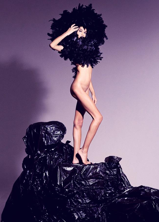 Vogue Brasil - Beauty Flash: Black Widow