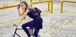 Chick on Speed - Glenn Prasetya for ELLE Fashion Editorial April
