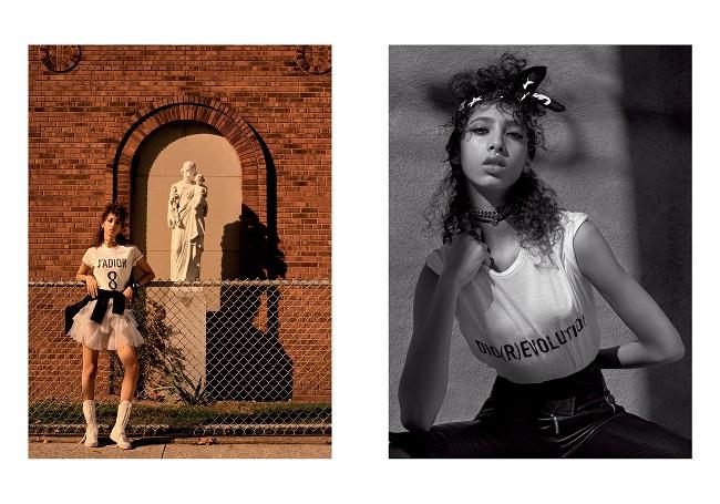 Dior, le immagini sublimi di Julia Noni