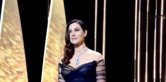 Cannes, Monica Bellucci in Dior