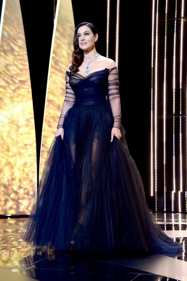 Cannes, Monica Bellucci in Dior