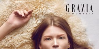Touch Of Gold: Glenn Prasetya per Grazia Indonesia Beauty
