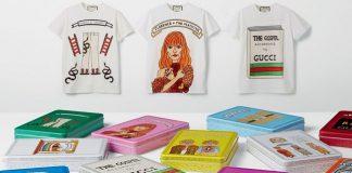 Le T-shirt Gucci con i disegni di Angelica Hicks