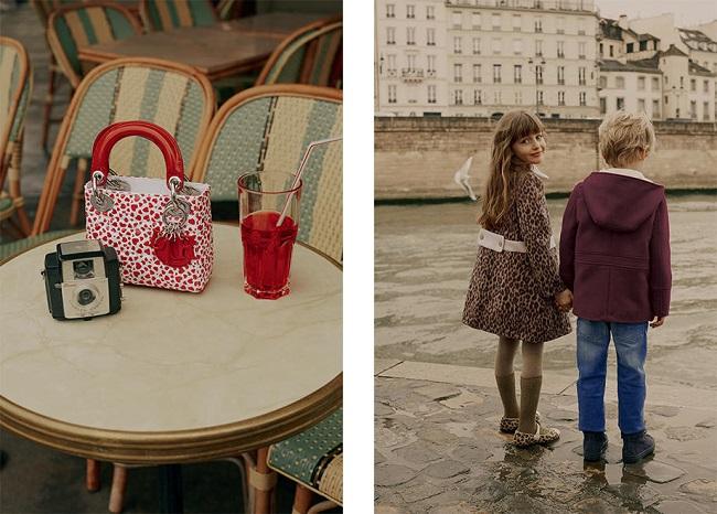 Baby Dior Autumn-Winter 2017-2018 - Paris, je t'aime