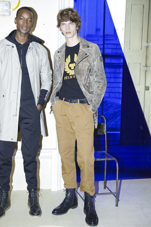 Belstaff Fashion Show Menswear Collection Spring Summer 2018 in London Fashion Week