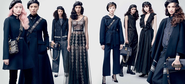 Dior Campagna Fall Winter 2017.18 gli scatti di Brigitte Lacombe fashionpress