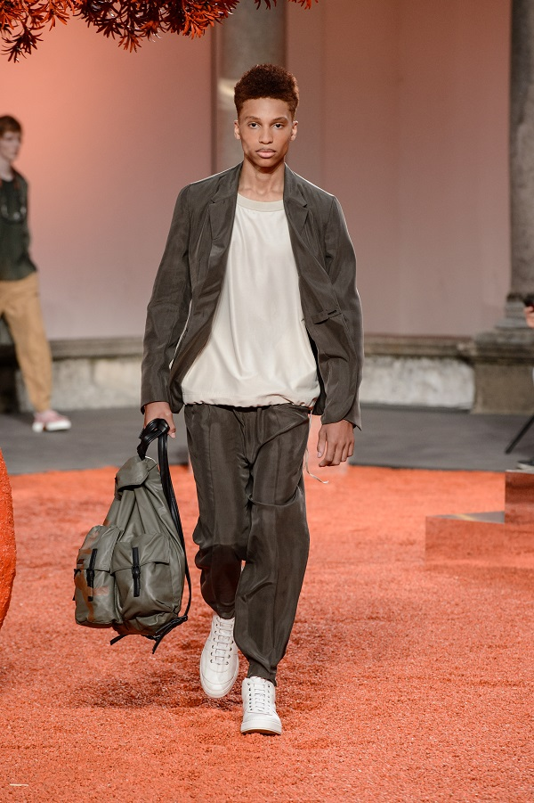 Milano Moda Uomo Ermenegildo Zegna - Estate 2018 fashionpress.it