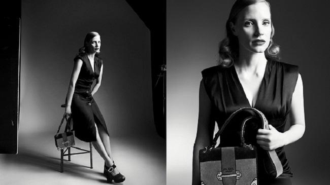 """Prada: Jessica Chastain è il nuovo volto della campagna 365 - """"Persona"""""""
