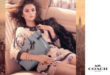 Selena Gomez volto della campagna Fall 2017 di Coach