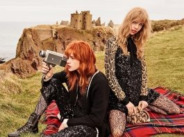 TWINSET Fall Winter 201718 Campaign with Stella Maxwell and Stella Lucia