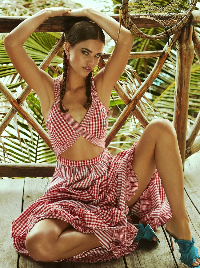 Tomás de la Fuente for COSMOPOLITAN GERMANY with ROBIN MARJOLEIN fashionpress.it