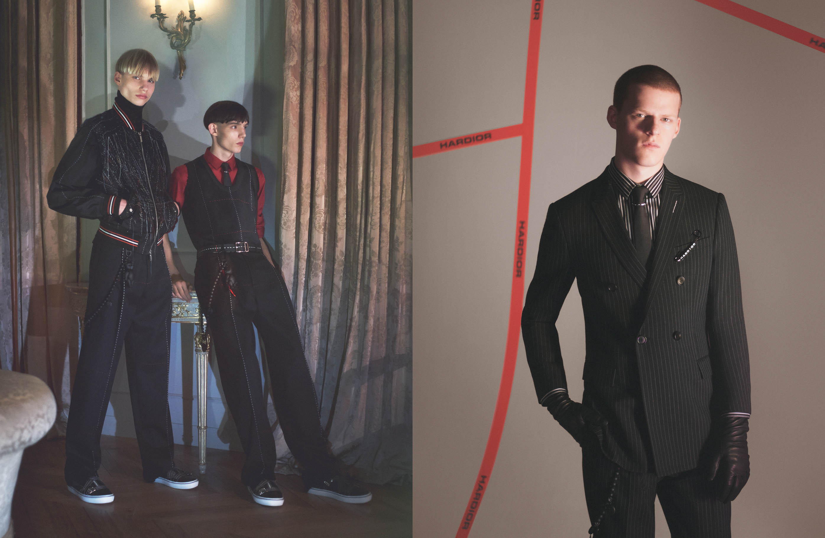 #Intothenight, il video realizzato da David Sims per la campagna Dior Homme inverno 2017-2018.