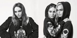 Cara Delevingne & Lily-Rose Depp x Chanel