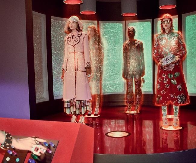 Gucci la campagna Autunno Inverno 2017 tra fantascienza e retrofuturismo