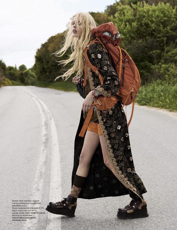 Vogue Netherlands June 2017 Jessie Bloemendaal by Paul Bellaart fashionpress.it