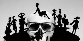 Il teschio di Yves Saint Laurent firmato da Antonio Guccione ©
